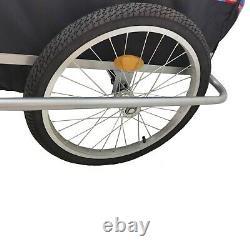 2 IN 1 Enfant Jogger Poussette Vélo Remorque Porte Pour Enfants Jusqu'À 40kg
