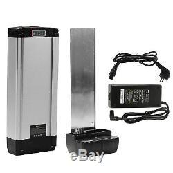 36V15.6Ah Batterie Vélo Electrique+Ebike Batterie Chargeur Pour Porte-bagege