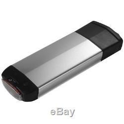 36V16Ah 592Wh E-Bike Batterie Vélo Electrique avec Porte-Bagage pour V-Frein