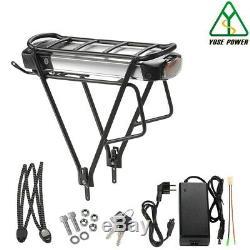 36V16Ah Ebike Batterie Lithium LG Cell+Porte-Bagage pour V-Frein Vélo Electrique