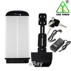 36V 10.4 Ah 385W E-bike Batterie Vélo Electrique Lithium-ion pour Porte-bagage