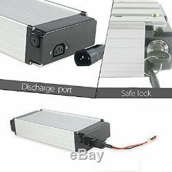 48V18Ah E-Bike Batterie Vélo Electrique Lithium avec Porte-Bagage pour V-Frein