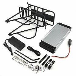 48V18Ah E-Bike Batterie Vélo Electrique Lithium avec Porte-Bagage pour V-Frein A