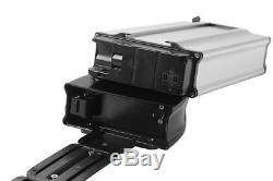 592Wh 36V16Ah E-bike Batterie Li ion pour Vélo Electrique+Porte-bagage+Chargeur