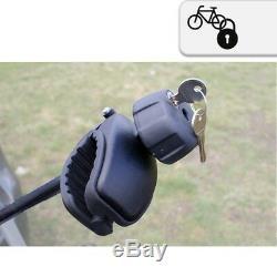 AHIRO2 Porte-Vélos Pour 2 Vélos Pliant Refermable Prémontées Aluminium
