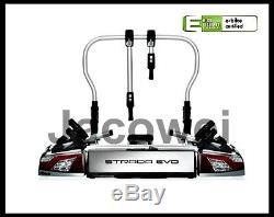 Atera 022700 Strada Evo 2 AHK porte-vélo de porte arrière pour 2 roues ou