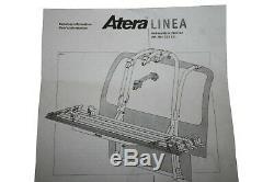 Atera Kit de Montage pour 4. Vélo Porte-Vélos pour Fahrradträgersystem Linea