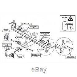 Attelage Nissan Leaf pour porte-vélos (11/10-09/17) RDSOH + faisceau spécifique