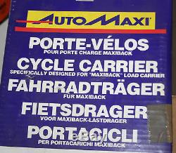 Auto Maxie Porte-Vélos pour Maxiback