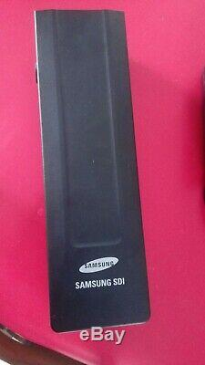 Batterie Samsung SDI-3610G /374Wh avec chargeur pour vélo 36 V pour porte bagage