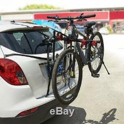 Blueshyhall Porte-vélos de hayon Support vélo pour coffre voiture 2-3 vélos