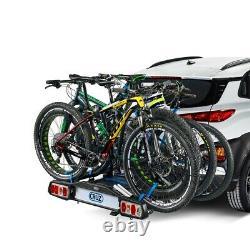 CRUZ Vélo Portant Pivot 4 Vélos 13 Pôle Pour Attelage de Remorque Porte-Vélos
