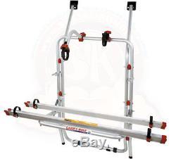 Combi Transporter Porte vélos Carry-Bike FIAMMA pour VW T4 hayon levant, pour 2