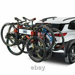 Cruz Frame 4 Pliable Et Inclinaison Porte-Vélos Pour Attelage de Remorque