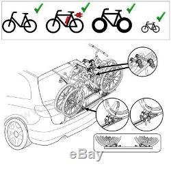 Dacia Duster Année de Construction, 08 18 Porte-Vélos Hayon pour 2 Vélos