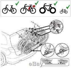 Dacia Lodgy Bj. Ab 2012 Porte-Vélos Hayon pour 3 Vélos Galerie, Porte-Vélos