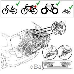 Dacia Logan MCV Bj. Ab 2013 Porte-Vélos Hayon pour 3 Vélos Galerie, Porte-Vélos