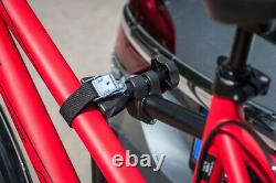 EUFAB Ambre Gris 1 Porte-Vélos Pour 1 Vélo Pkw Galerie Attelage De Remorque AHK