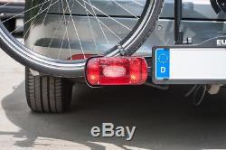 EUFAB Ambre gris 1 Porte-vélos pour 1 vélo véhicule personnel Galerie