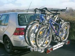 EUFAB Vélo Three Porte-Vélos Pour 3 Vélos Galerie Attelage De Remorque AHK