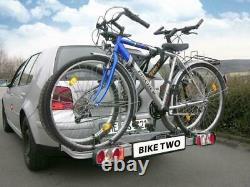 EUFAB Vélo Two Porte-Vélos Pour 2 Vélos Auto Galerie Attelage De Remorque AHK