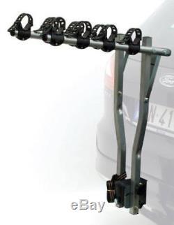 Etc Deluxe Porte-vélos Pour Voiture Argenté Capacité 4