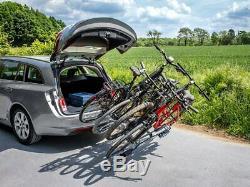 Eufab 11514 Porte basculant pour 4 vélos Gris