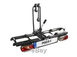 Eufab Poker-F Porte-Vélos Arrière pour Attelage de Remorque pour 2 Vélos