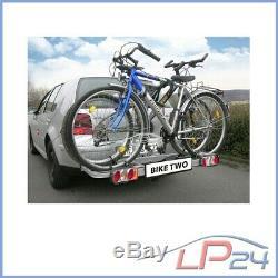 Eufab Porte-vélos Bike Two 11411 Pour Attelage De Remorque 2 Vélos