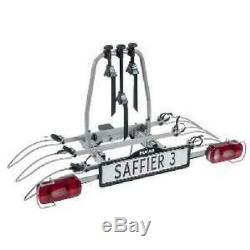 Eufab Porte-vélos Plateforme Pour 3 Vélos Saffier 11545