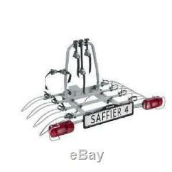 Eufab Porte-vélos Plateforme Pour 4 Vélos Saffier 11546
