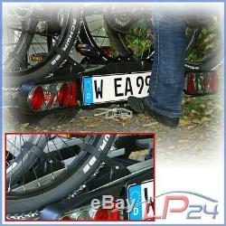 Eufab Porte-vélos Premium III Pour Attelage De Remorque 3 Vélos E Bike