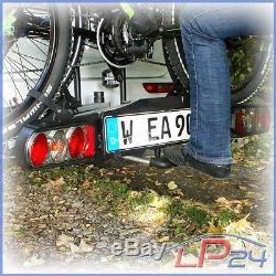 Eufab Porte-vélos Premium II Pour Attelage De Remorque 2 Vélos E Bike