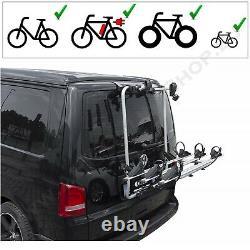 Hayon Porte-Vélos Pour 3 Vélos Pour VW T5 Californie 2003-2015