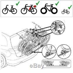 Lancia Lybra Break 99-05 Porte-Vélos Hayon Pour 3 Vélos Galerie