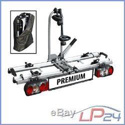 Las E-bike Porte-vélos Premium 12011 Las Pour Attelage De Remorque Pliable