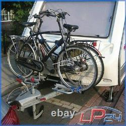 Las Porte-vélos Caravane Remorque V-forme Pour 2 Vélos