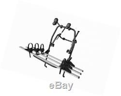 MENABO 000089300000 Porte-Vélo Arrière avec Châssis en Acier et Aluminium pour 3