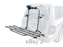 Menabo BOA 3 Porte-vélo de porte arrière 3 vélos pour SUV avec roue de Secours