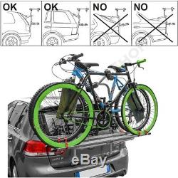 Menabo Logique 3 Porte-Vélos pour Hayon Heckklappenträger 3 Roues Tüv GS