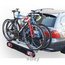 Menabo Project Tilting 2 Porte-vélos sur de l'attelage pour 2 Velos