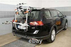 PORTE-VELOS SUR COFFRE/HAYON-2 VELOS FIXATION ARRIERE pour Nissan Almera Tino