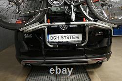 PORTE-VELOS SUR COFFRE/HAYON-2 VELOS FIXATION ARRIERE pour Subaru Forester 08
