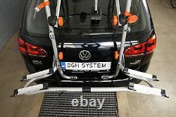 PORTE-VELOS SUR COFFRE/HAYON-2 VELOS FIXATION ARRIERE pour Subaru Impreza 01-06