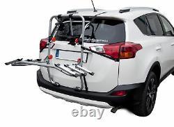PORTE-VELOS SUR COFFRE/HAYON-3 VELOS FIXATION ARRIERE pour Nissan Micra 10-13