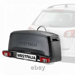 Pack porte-vélos Westfalia BC80 pour 2 vélos et coffre de rangement Portilo Box