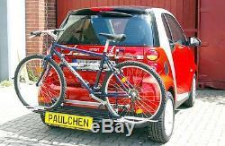 Paulchen Porte-Vélos Arrière Economy Classe pour Smart Fortwo 451 Coupé