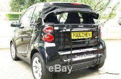 Paulchen Porte-Vélos Economy Classe pour Smart 451 Cabriolet