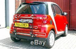 Paulchen Support de base Galerie, Porte-vélos arrière pour Smart Fortwo 451 Coupé