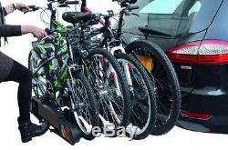 Peruzzo Pure Instinct Porte-vélo sur attelage pour 4 vélos
